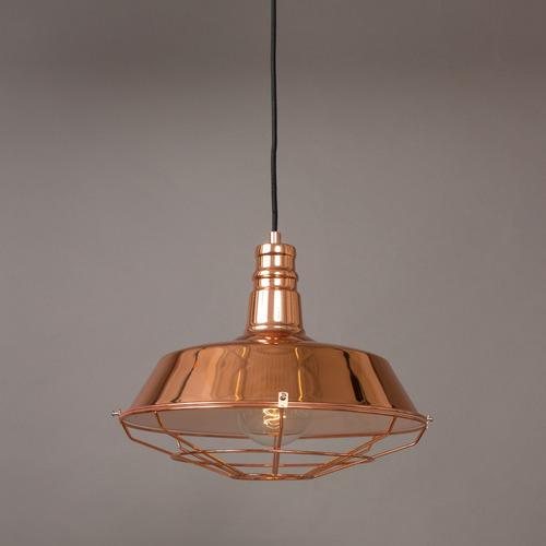 luminaria galponera metal zum