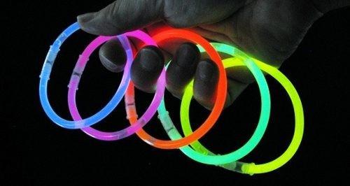 luminosas fiesta pulseras