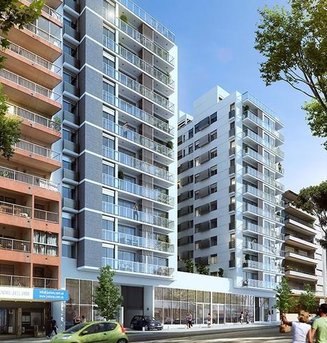 luminosos apartamento 2 dormitorios cordon sur con balcon