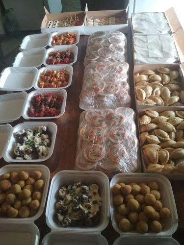 lunch para 10 20 30 40 50 60 70 personas. tortas y postres