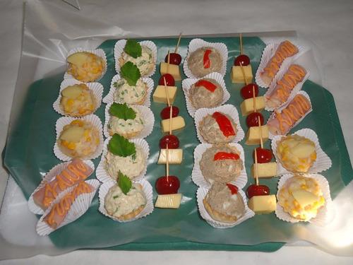 lunch para fiestas y eventos