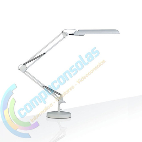 lupa y lampara con brazo articulado luces led dimable usb