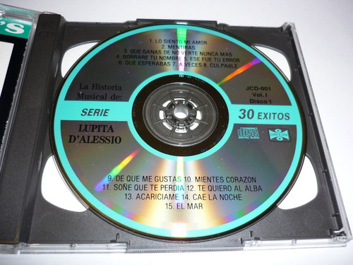 lupita d' alessio la historia musical 1 cd album doble
