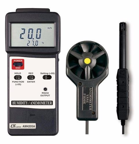 lutron anemometro higrometro humedad