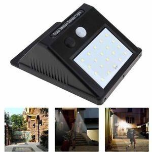 luz farol lampara led sensor solar bateria   infotools