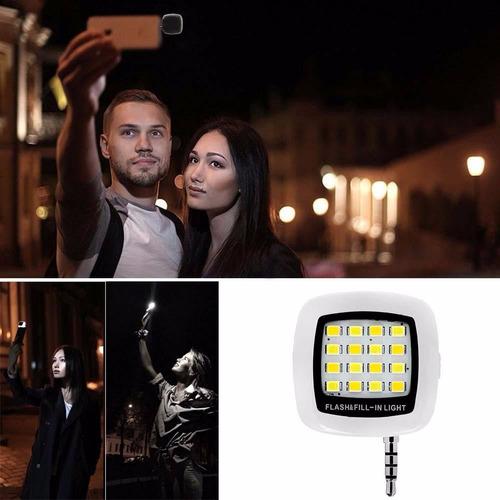luz flash 16 led para celulares y tablets oferta exclusiva!!