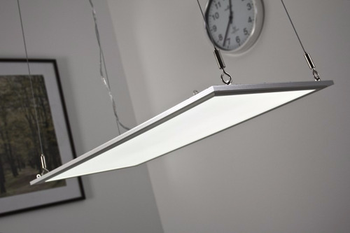 luz led panel rect. 30x120cm c/lingas 3750lm  3l30120a48e