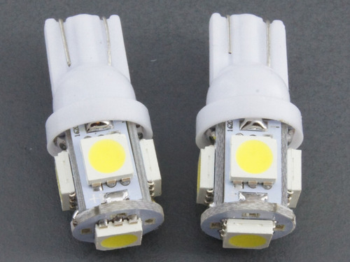 luz led t10 tuning autos motos posicion señaleros matricula.