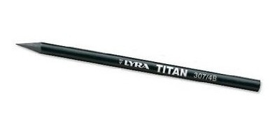 lyra woodless titan pencil 307 4b black (2039104)
