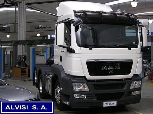 m a n tractor 6x2 leasing o importación directa
