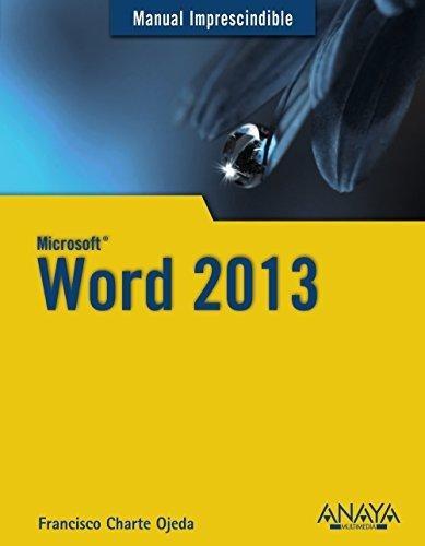 m i word 2013 de charte fco  anaya