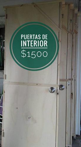 madera aberturas puerta exterior