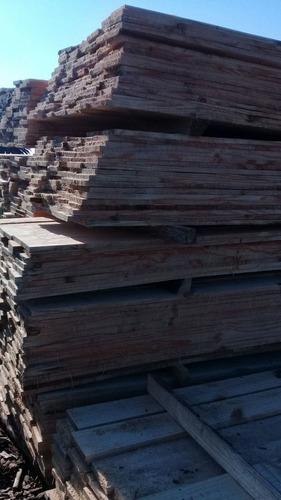 madera tablas de encofrado tirantes tablones puntales