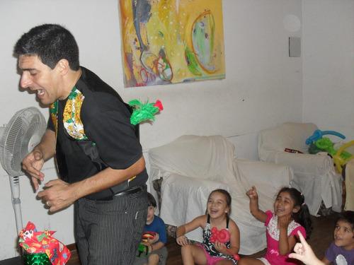 mago.show de magia y humor. infantiles y adultos. animación