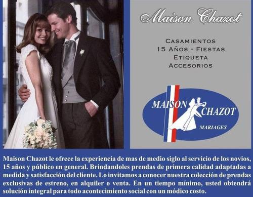 maison chazot ... smocking/jaquet/trajes/novia/madrina