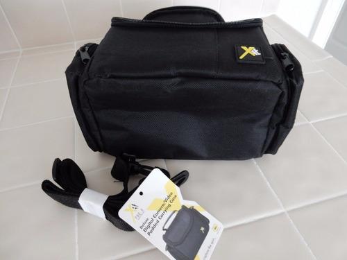 maleta deluxe para cámara nikon, canon, sony, etc. economica