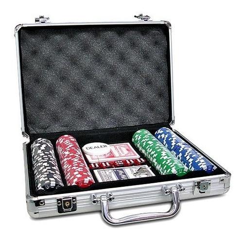 maletin de 200 fichas de poker