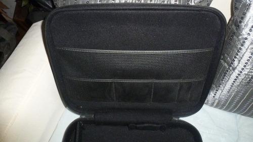 maletín notebook, ibm,  en cuero suave, 40 x 33 x 9 cm