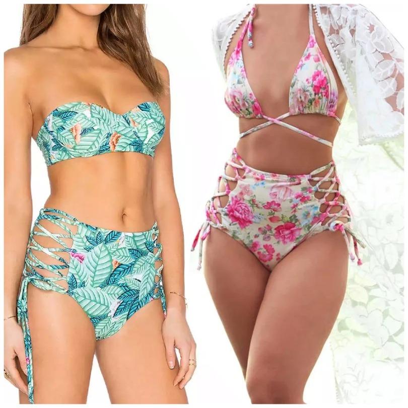 55c10b58ed65 Malla - Bikini 2 Piezas Tiro Alto
