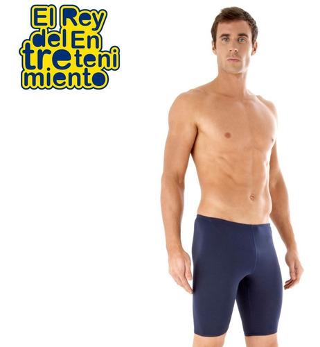 malla jammer speedo natación calza hombre + regalo - el rey