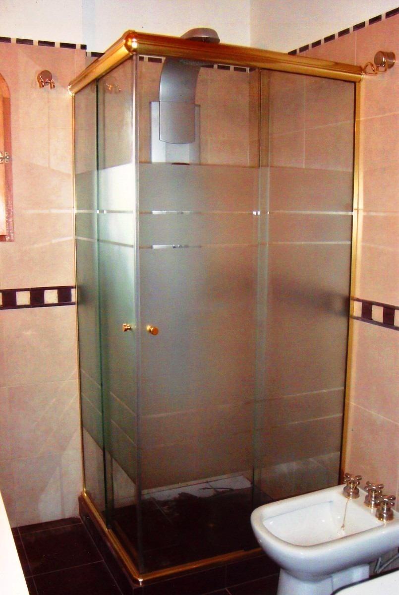 Mampara de ducha mampara ba o en vidrio precio m2 en mercado libre - Cristal templado precio m2 ...