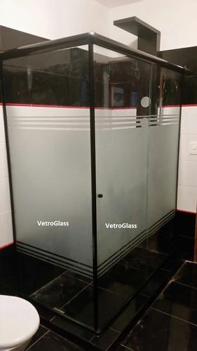 mampara de ducha para baño en vidrio (xm2) a medida