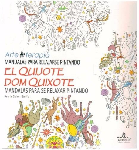 Mandalas Para Pintar El Quijote - Arte Terapia - $ 390,00 en Mercado ...