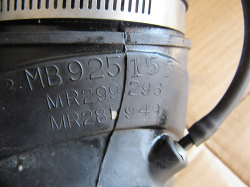 manguera portafiltro mitsubishi eclipse 95-99 2.0 turbo