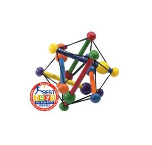 manhattan toy skwish classic rattle and teether agarrar acti
