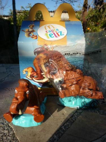manny de la era del hielo 4 bolsa cerrada mc donalds  2012