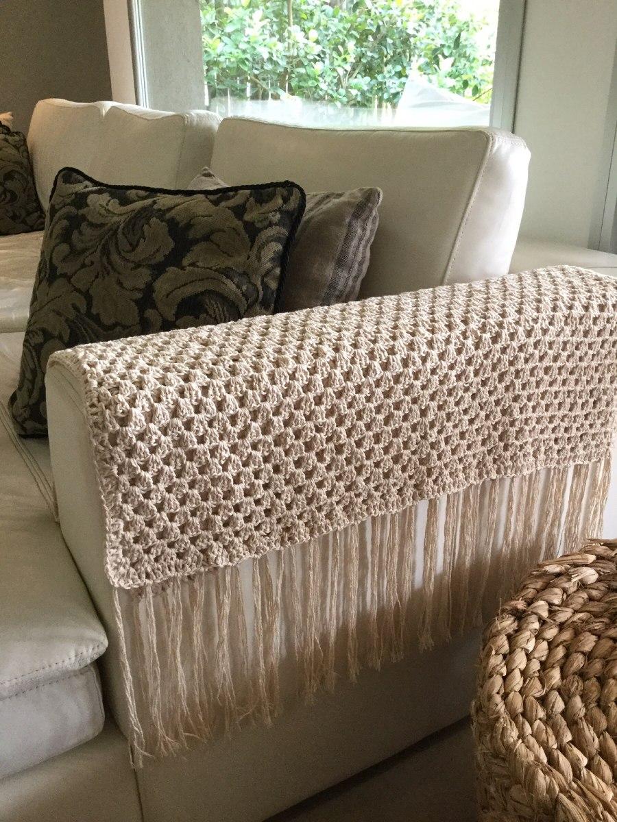Manta decoraci n pie de cama tejido en crochet - Ikea mantas para camas ...