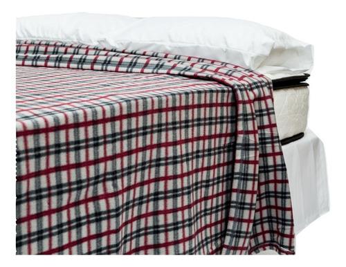 manta polar 2 plazas - diseños variados - kudam