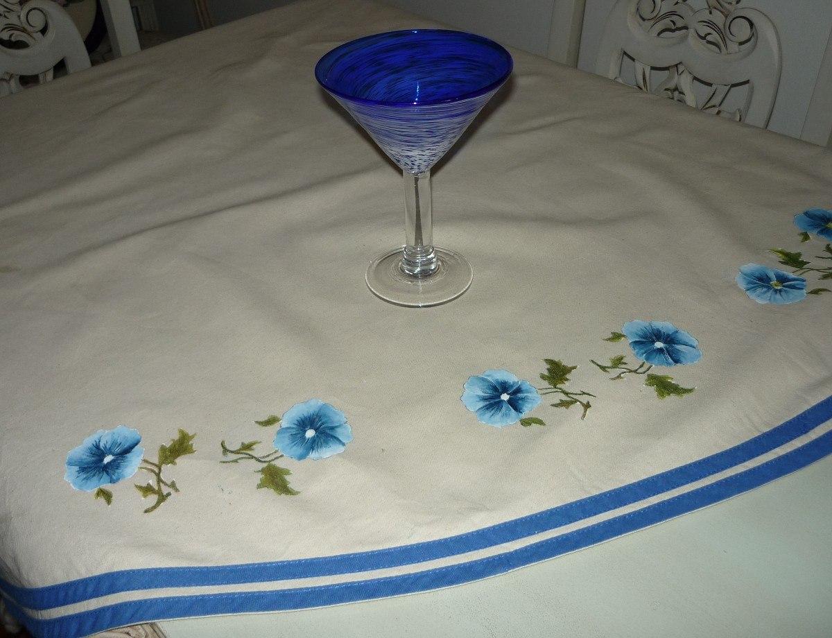 Mantel Carpeta Para Mesa Ideal Personas Que Pintan En Tela 790 - Tela-para-manteles-de-mesa