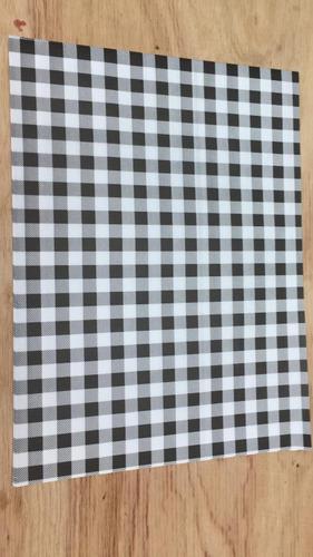 mantel individual papel blanco _ kraft ( descartable )
