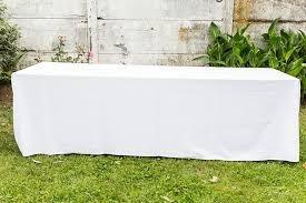manteles blancos rectangulares