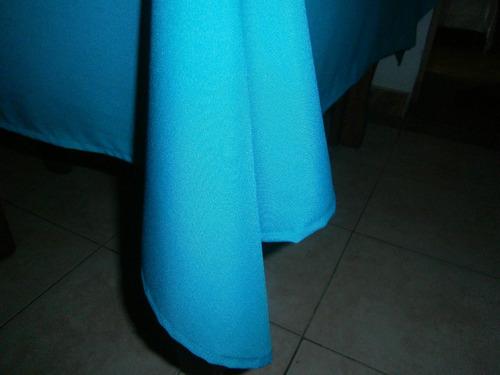 manteles en tela panamá y fundas para almohadones