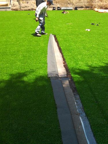 mantenimiento canchas de fútbol descompactación limpieza