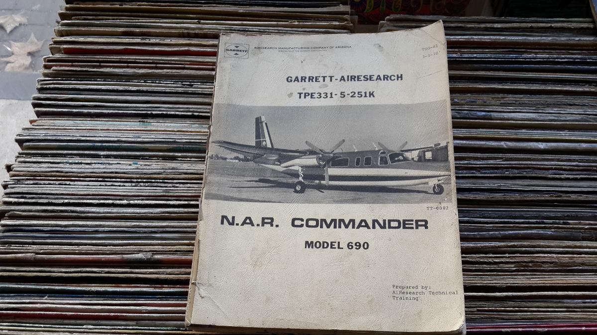 Manual Avión Garrett Airesearch Tpe331 5 251k - $ 2 000,00