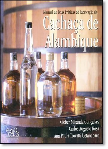 manual de boas práticas de fabricação da cachaça de alambiqu