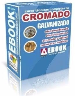 manual de cromado galvanoplastia niquelado envios