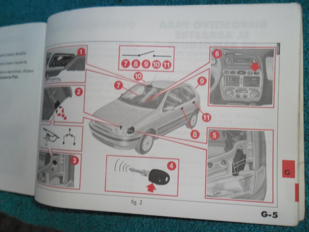 manual de mantenimiento de fiat palio 500 00 en mercado libre rh articulo mercadolibre com uy fiat palio manual pdf free download fiat palio manual
