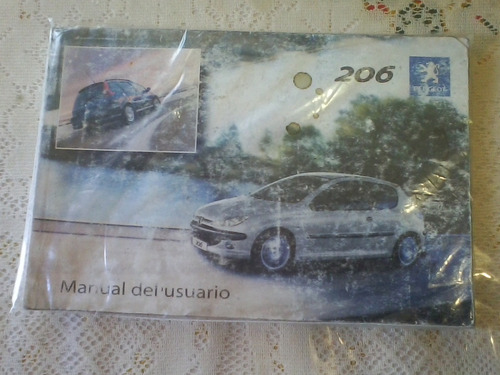 manual de propietario auto peugeot 206