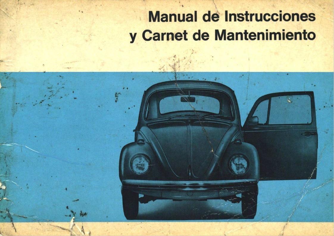 manual de propietario volkswagen escarabajo 1200 1300 1500 55 00 rh articulo mercadolibre com ar VW Escarabajo Modificado Volkswagen Polo