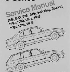 manual de  taller bmw serie 5 del 89 al 95 en pdf