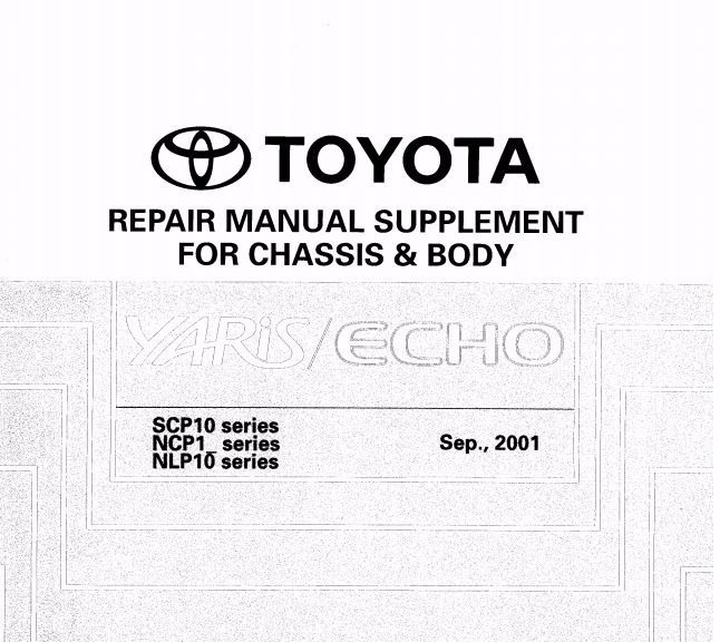 manual de reparacion toyota echo 2000