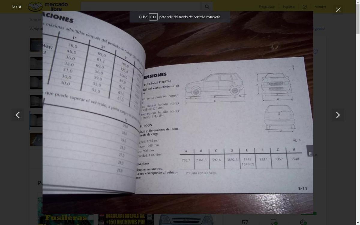 Manual De Usuario Fiat Uno Way Fiorino Desde 2007