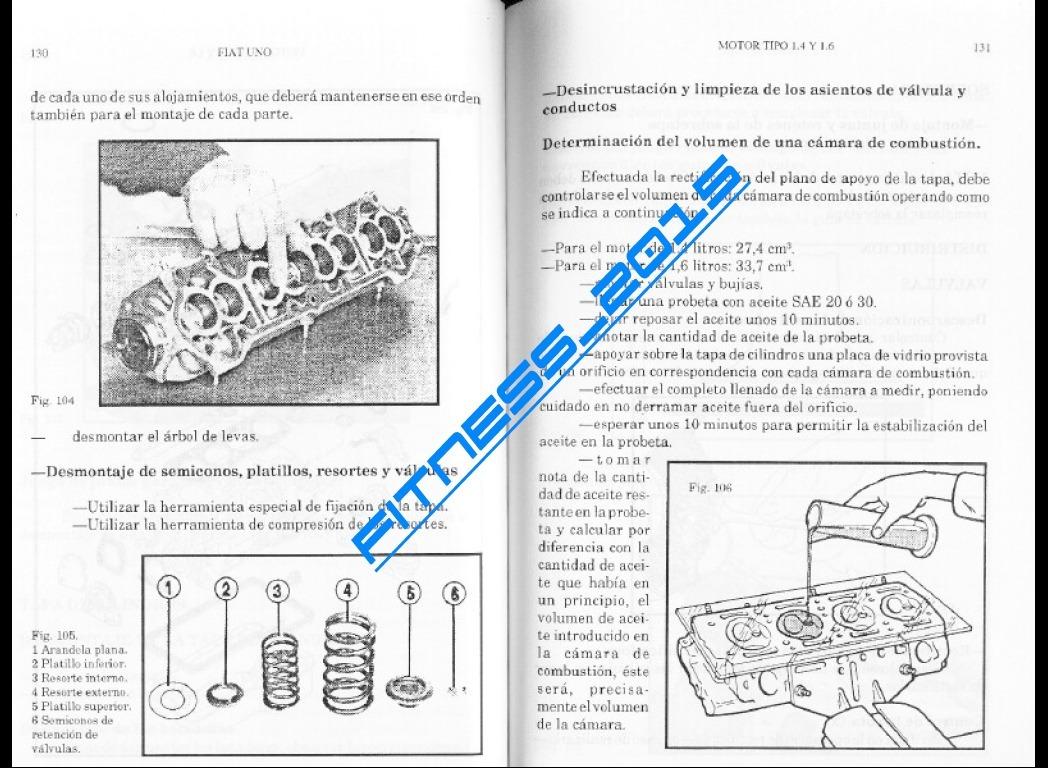 Manual Taller Diagrama Fiat Regatta 1987 Espa U00f1ol