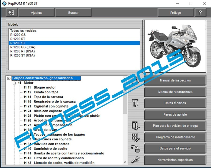 Manual Taller Diagramas El U00e9ctricos Moto Bmw R 1200gs
