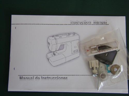 manuales maquinas de coser varias marcas copias del original