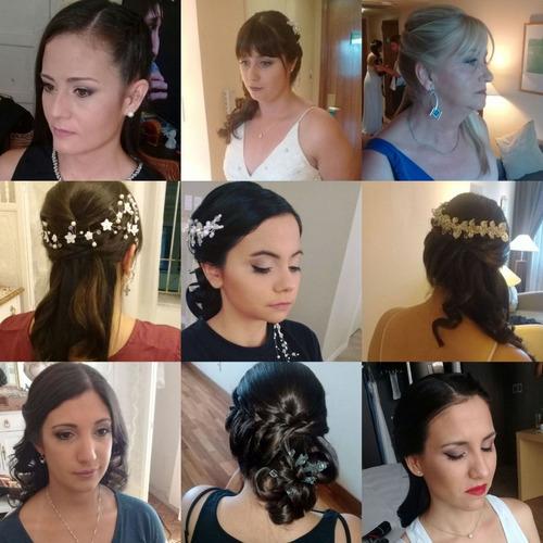 maquilladora profesional peinados  novias 15 años altinai